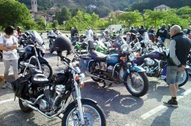 Raduno di moto d'epoca a Zogno
