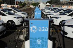 Mobilità elettrica, 32 nuove colonnine di ricarica a Bergamo