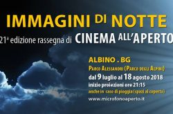 Cinema all'aperto ad Albino