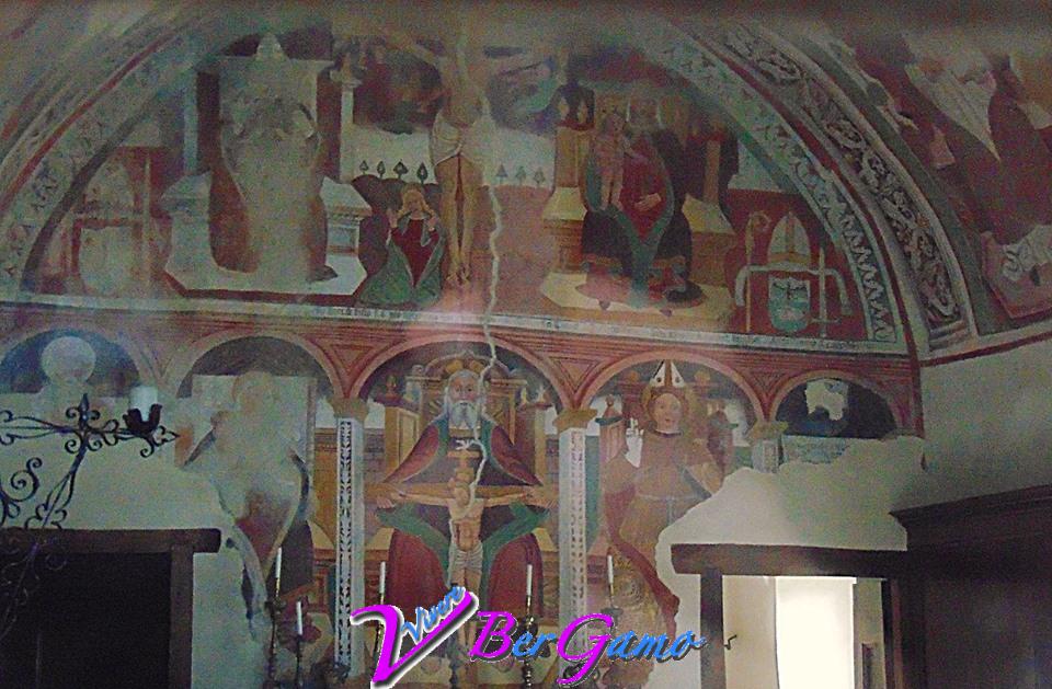La chiesa di San Ludovico di Tolosa, si trova nel borgo di Bretto