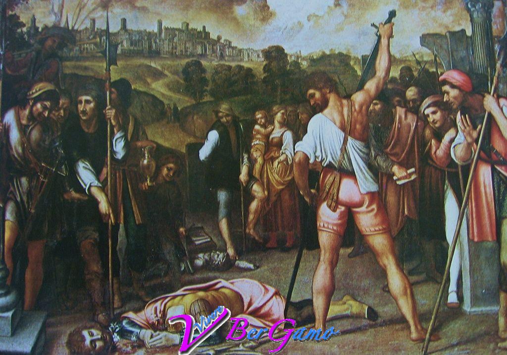 Martirio di sant'Alessandro, dipinto dell'artista Enea Salmeggia, esposto presso l'Accademia Carrara, Bergamo.