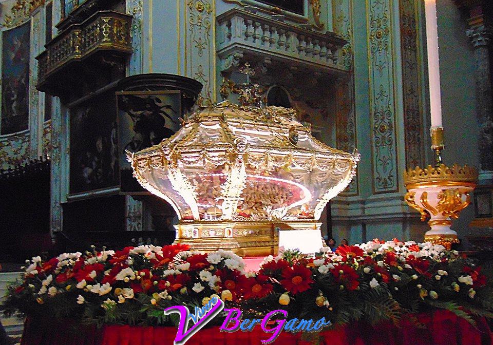 Duomo di Bergamo- La cattedrale di Sant'Alessandro-26 agosto -Bergamo celebra la festa del suo patrono Sant'Alessandro-reliquie del Patrono,vissuto tra il III e IV secolo