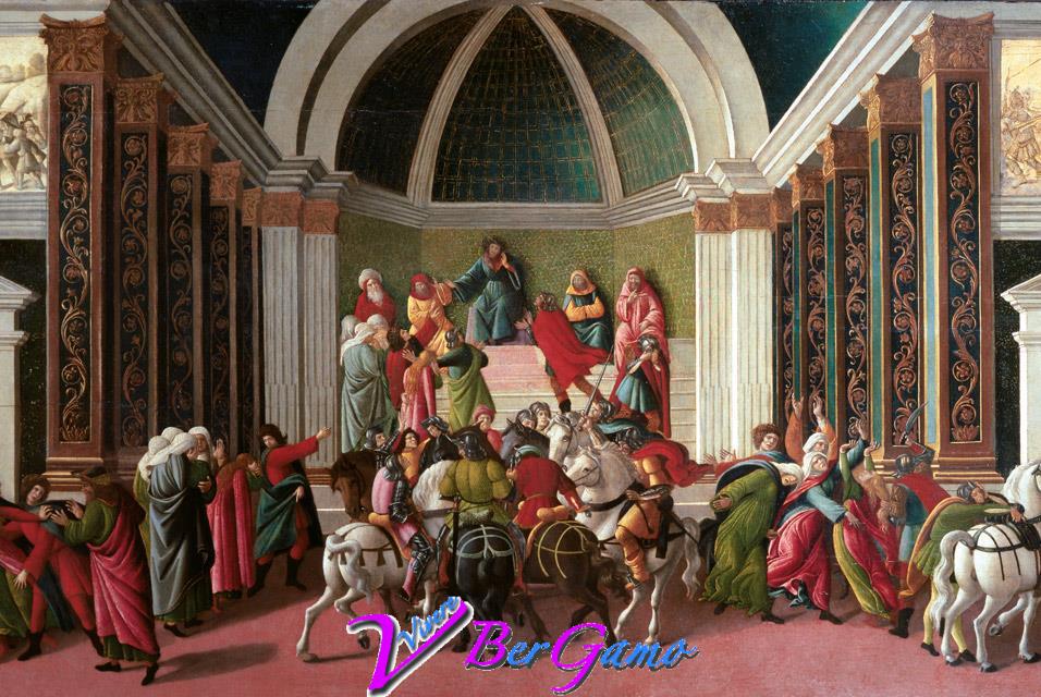 Sandro Botticelli, Storia di Virginia Romana