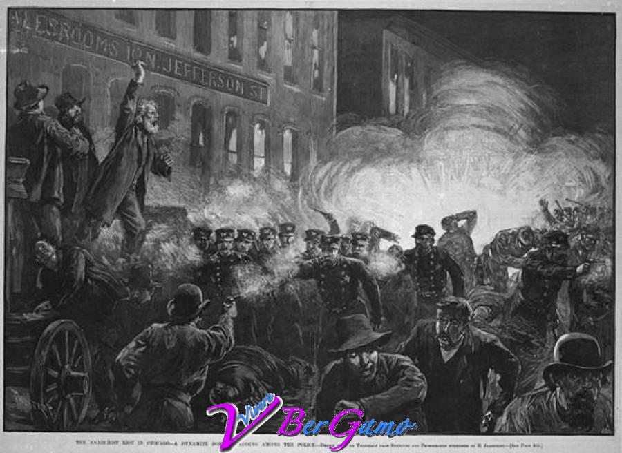 Rivolta di Haymarket 1 Maggio 1886