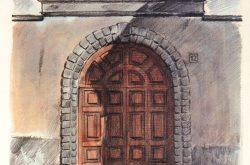 Porta Via Bettera 12 Gandino