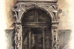 Porta Via Bono 6 Gandino