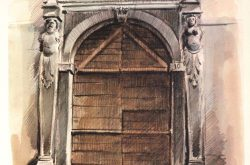 Porta Via G.B. Castello 4 Gandino