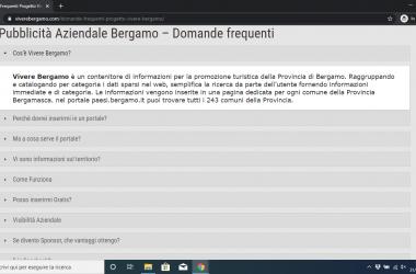 Vivere Bergamo come funziona?