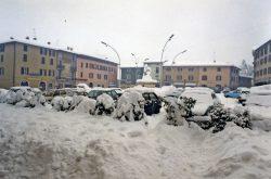 Nevicata 1985 Trescore Balneario Bergamo