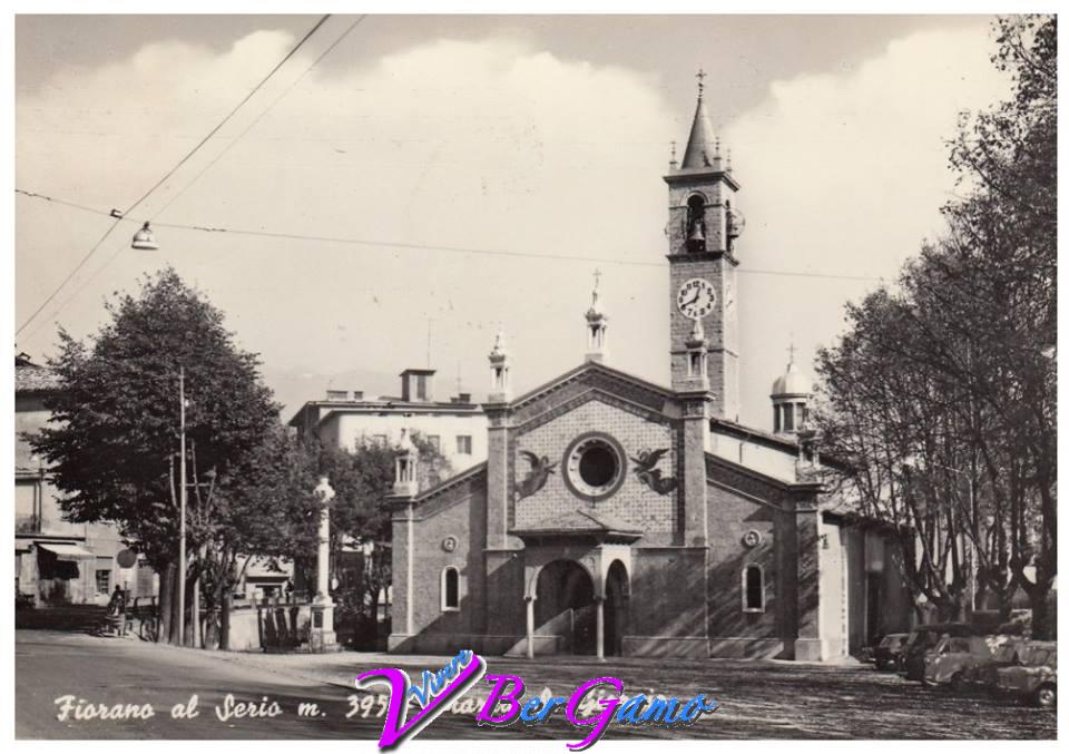 Immagine storica Chiesa San Giorgio Fiorano al Serio