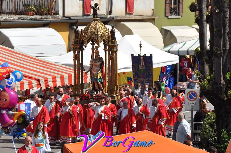 Processione di San Giorgio Fiorano al Serio