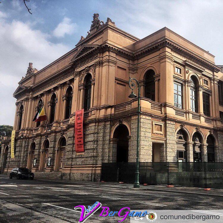Teatro Donizetti Bergamo prima della ristrutturazione