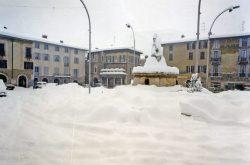 Trescore Balneario Bergamo Nevicata 1985
