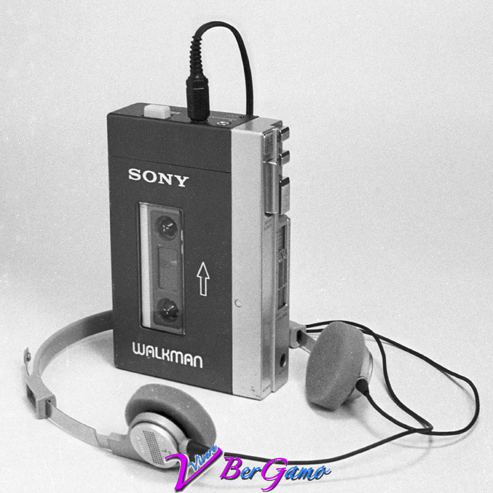prima del famoso mp3, il Walkman della Sony era il leader del settore